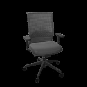 silla de oficina actiu frontal sin cabecera - tecnioficina