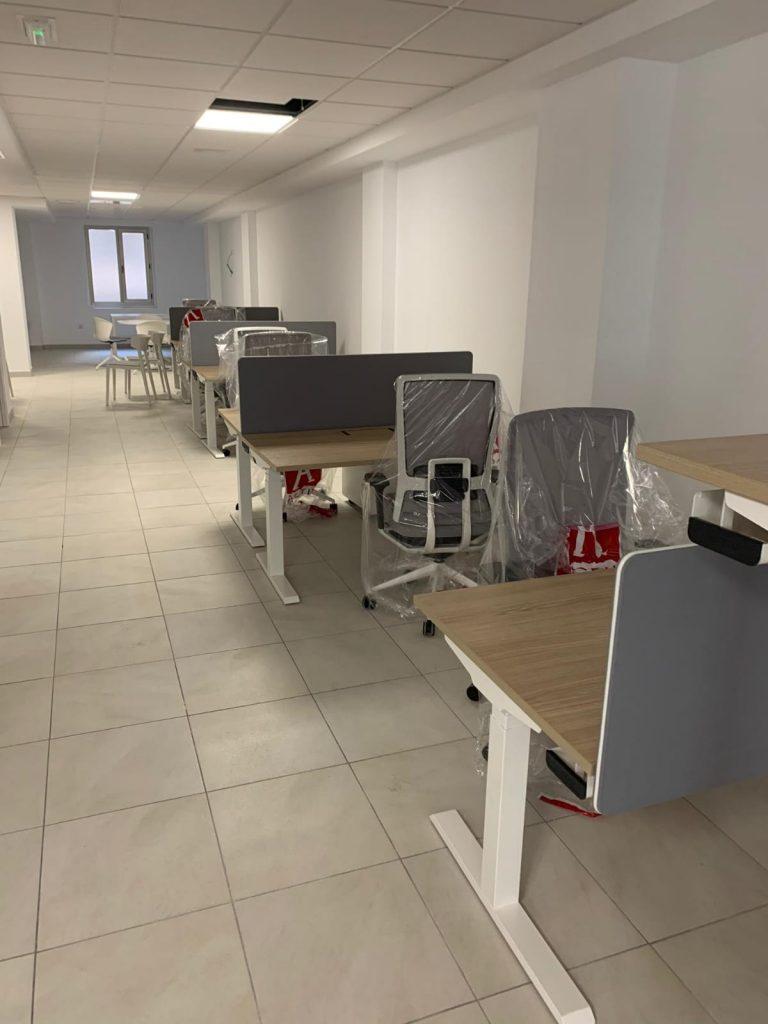 Montaje de oficinas en Avenida Maisonnave (Alicante)